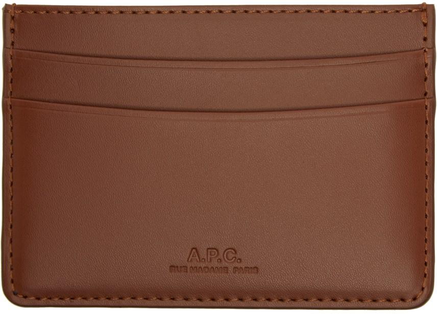 Brown André Card Holder-SC5254281