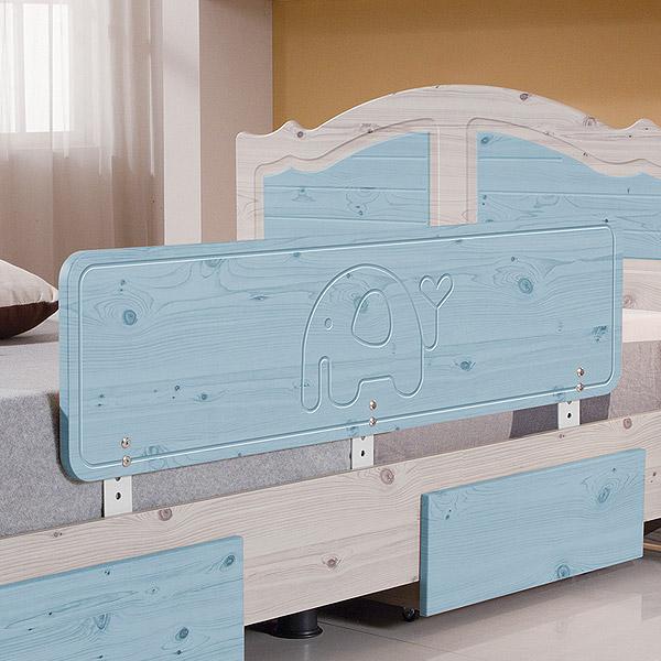 젠티스 침대안전가드, 블루 120cm