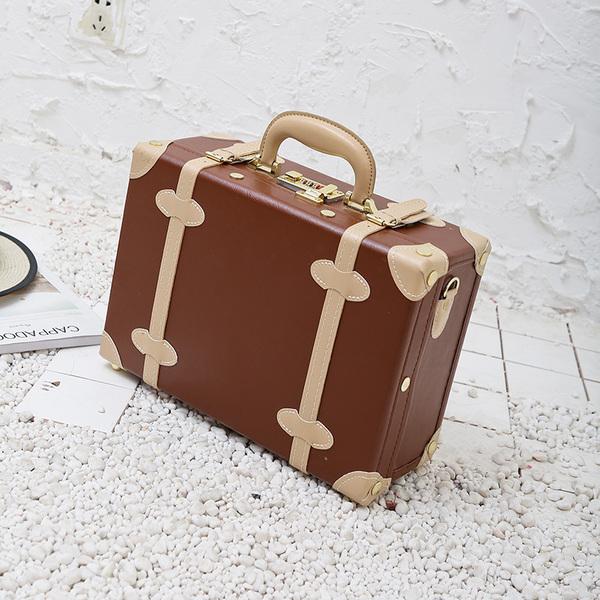 롱라움 14인치 미니 캐리어 기내용 여행 하드 가방 소형 여행용