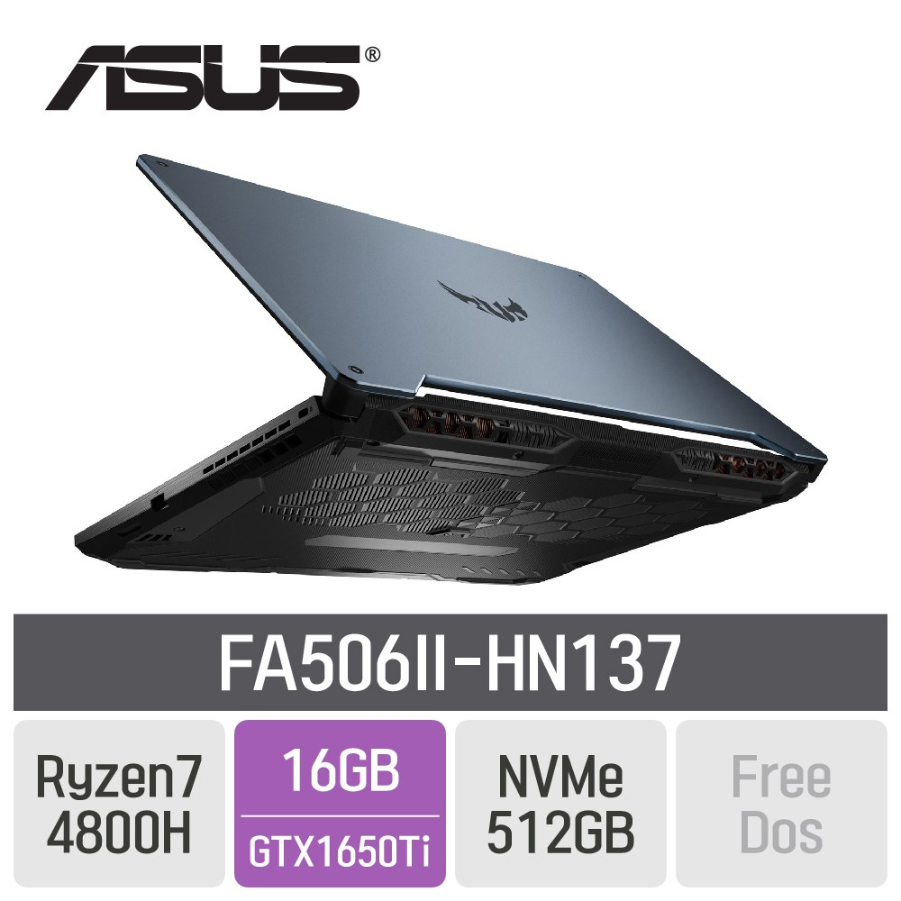 ASUS TUF 게이밍 A15 FA506II-HN137, 16GB, SSD 512GB, 미포함