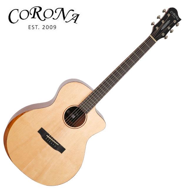 Corona ABG-210C / 탑솔리드 그랜드 오디토리엄 베벨 컷 통기타, *, *