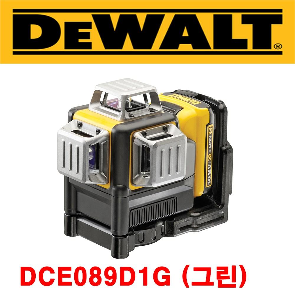 [디월트] DW089CG 3라인 그린 레이저