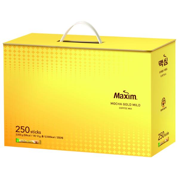 (무료배송)맥심 모카골드커피 선물세트 250개입, 맥심모카골드선물세트250T
