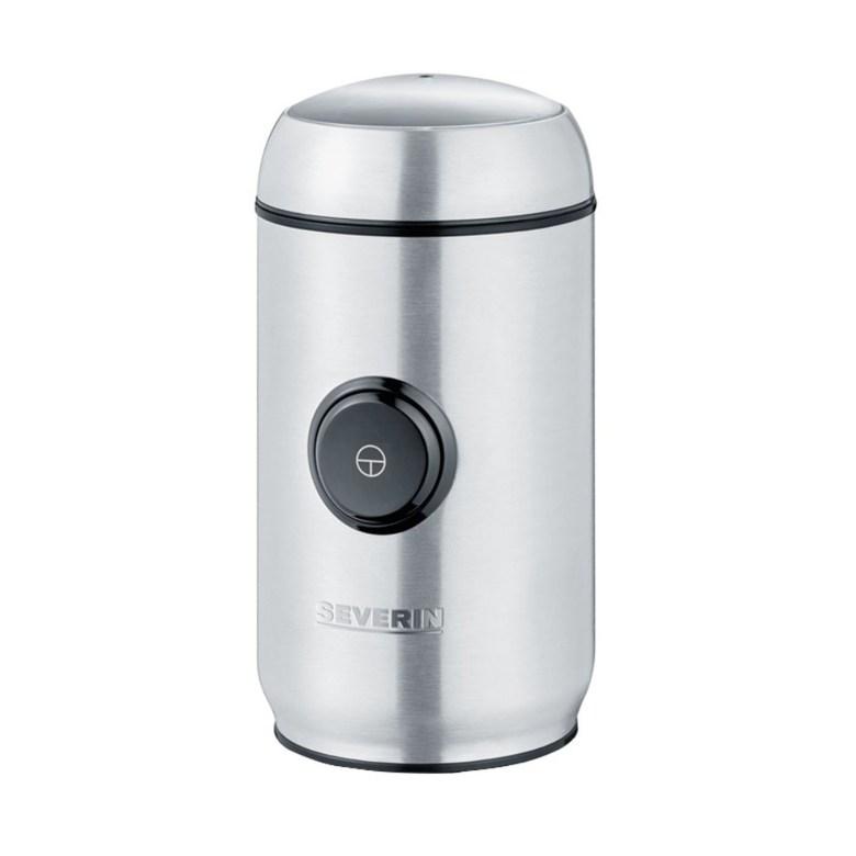 독일 SEVERIN 가정용 커피 원두 오곡 곡물 전동 분쇄기, 스테인리스 컬러-21-4598531670