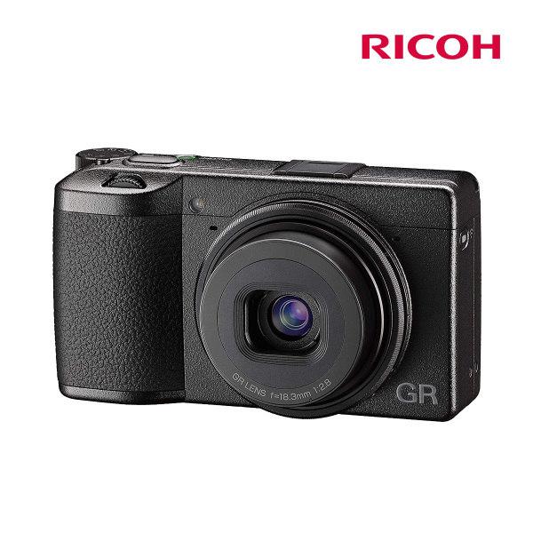 [리코] (정품) GR III / RICOH GR3 블랙색상, 색상:블랙