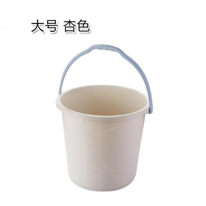 가정용 세차 라지 통 물통 저장 포터블 두꺼워 플라스틱 드럼통 숙성제, 라지 살구색