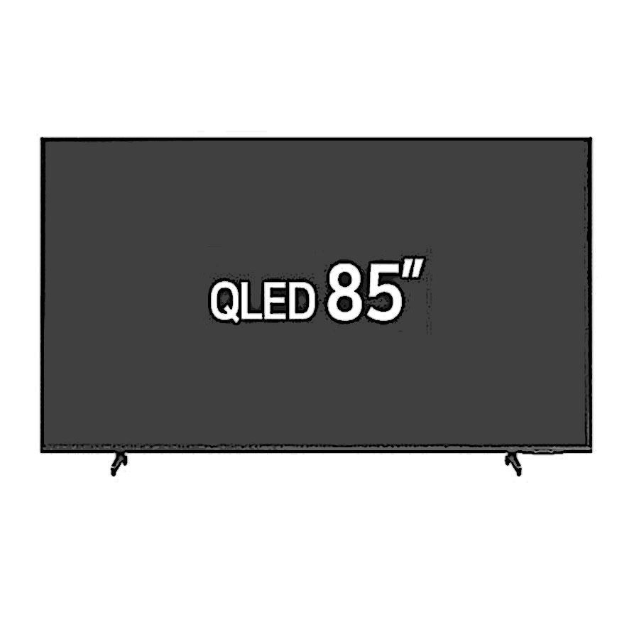 삼성전자 QLED 4K KQ85QA60AFXKR 고정스탠드/가나다샵, 스탠드형