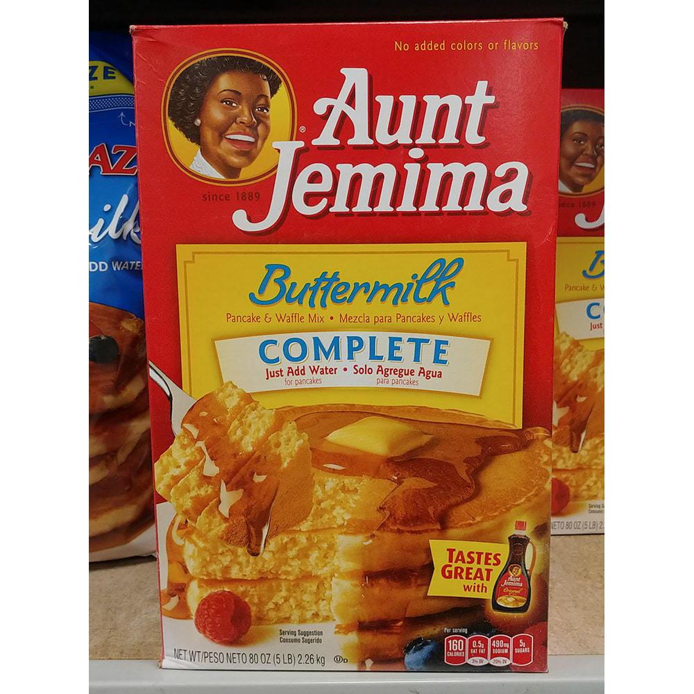 Aunt Jemima 앤티 제미마 버터밀크 팬케이크&와플 믹스, 1세트, 2260g