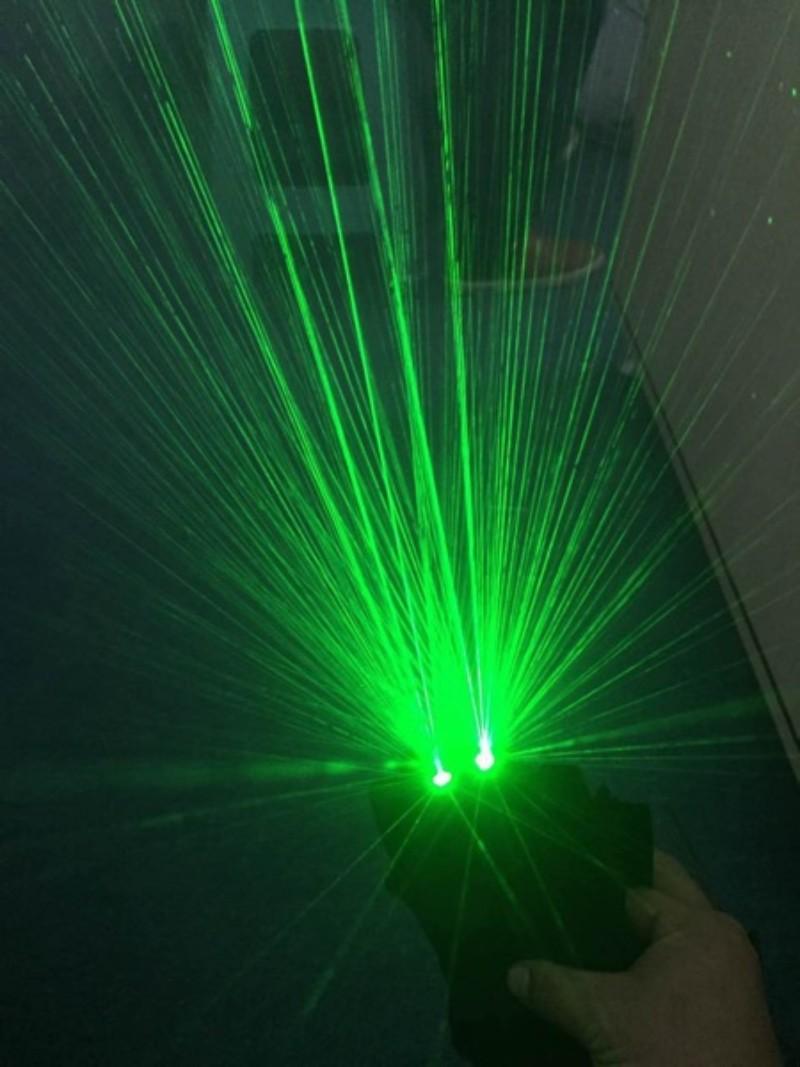 LED 레이저 장갑 아내의맛 박은영 김형우 레이저쇼 나이트 클럽 할로윈, 왼쪽 레드 레이저