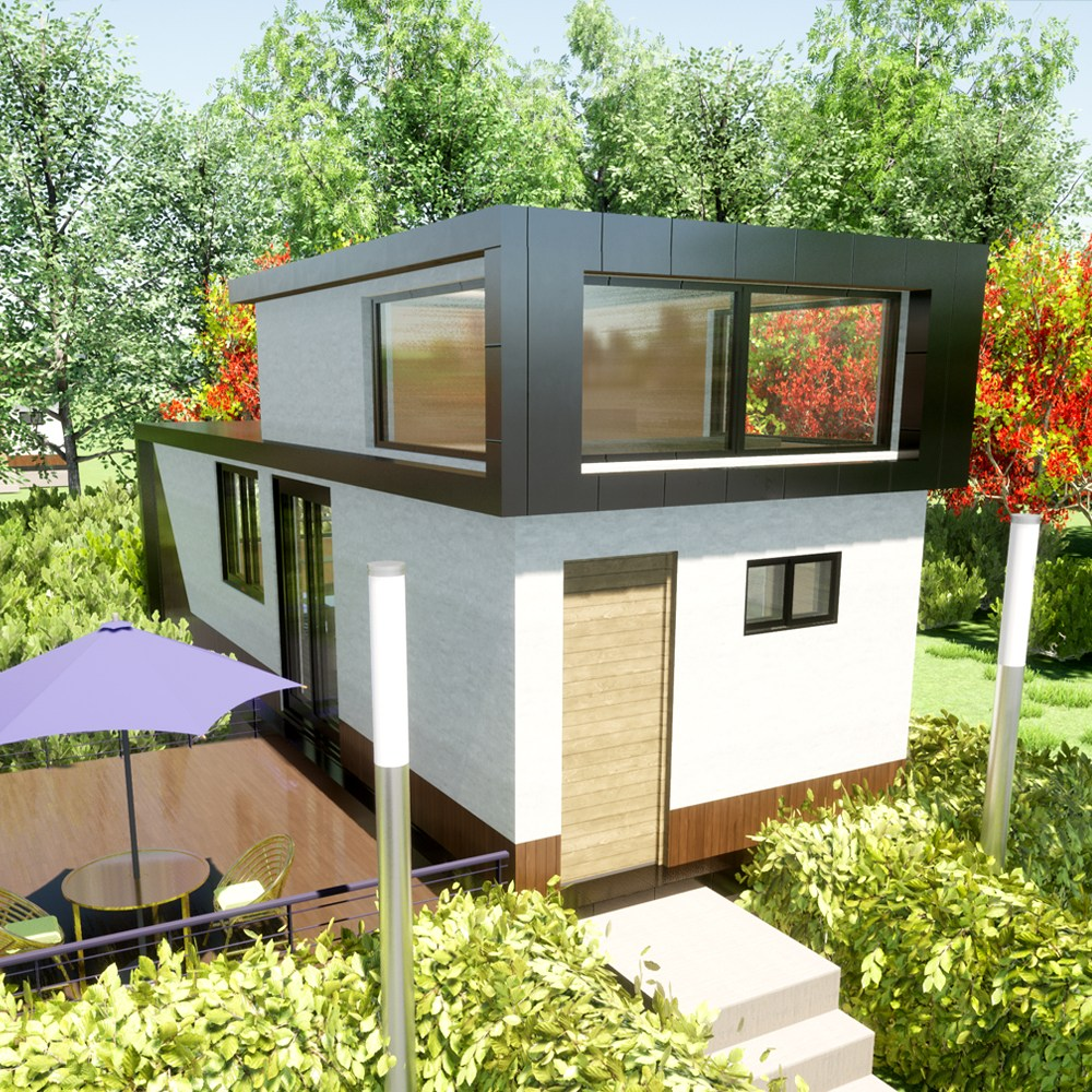 [명당하우스] 11평 이동식 목조주택 전원주택 세컨하우스 소형주택 농막 농가주택 모듈러주택 컨테이너