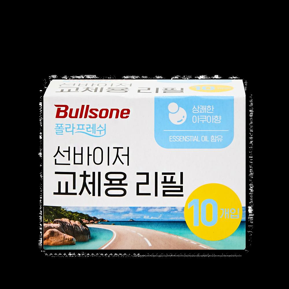 불스원 폴라프레쉬 선바이저 리필 아쿠아 10개입
