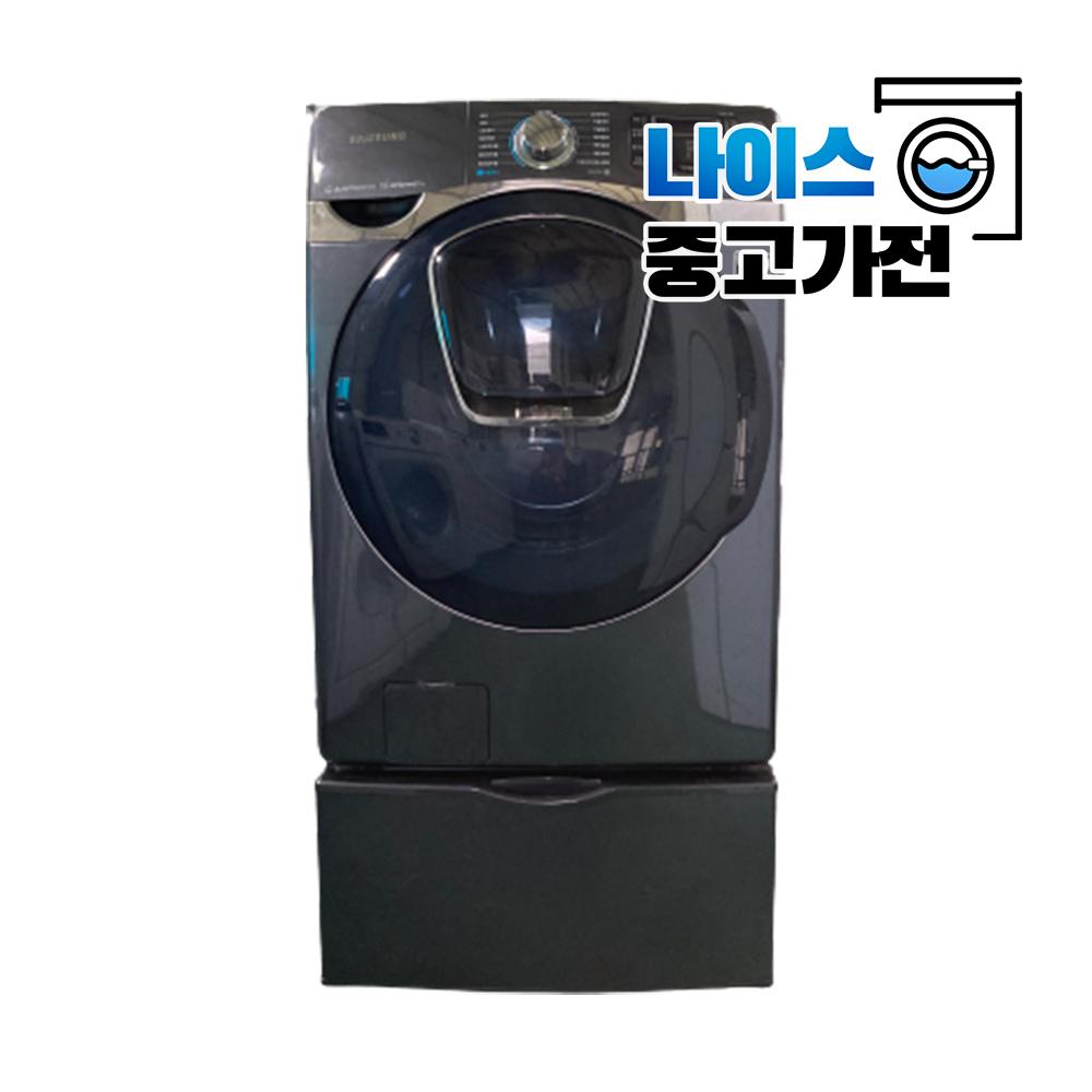 삼성 버블샷 에드워시 허리사랑 수납함 드럼세탁기 빨래21키로 건조12키로 (POP 4948483481)