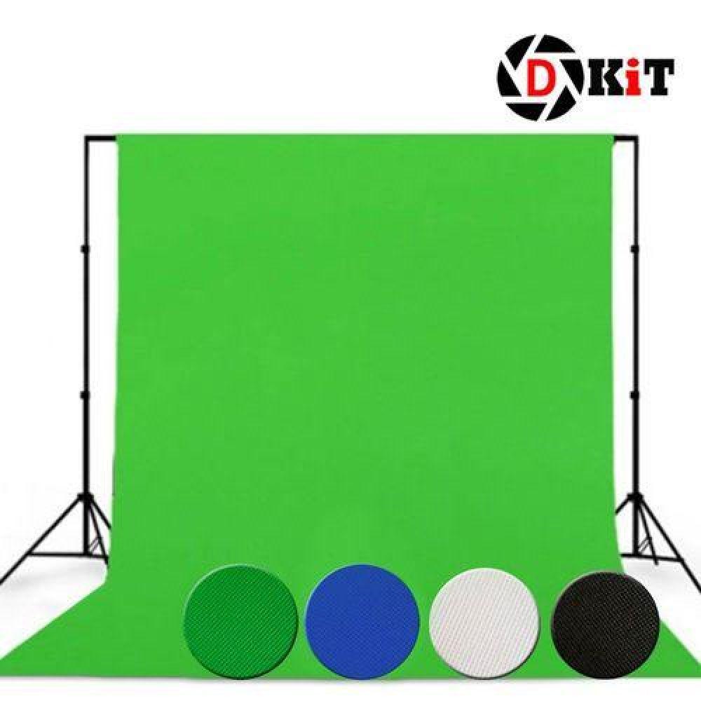 디키트 크로마키스크린 배경천 1.6x1m 블루, 1, 단일옵션