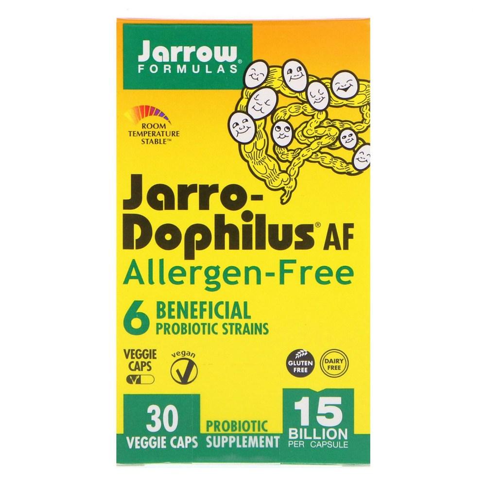 Jarrow Formulas 재로우 자로도필러스 150억 30 야채 캡슐 1세트