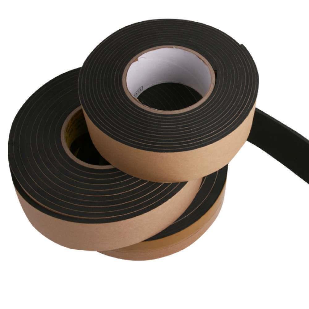 30mm 에바 충격완화 촘촘한 방음 테이프 단면스펀지, 두께5mm