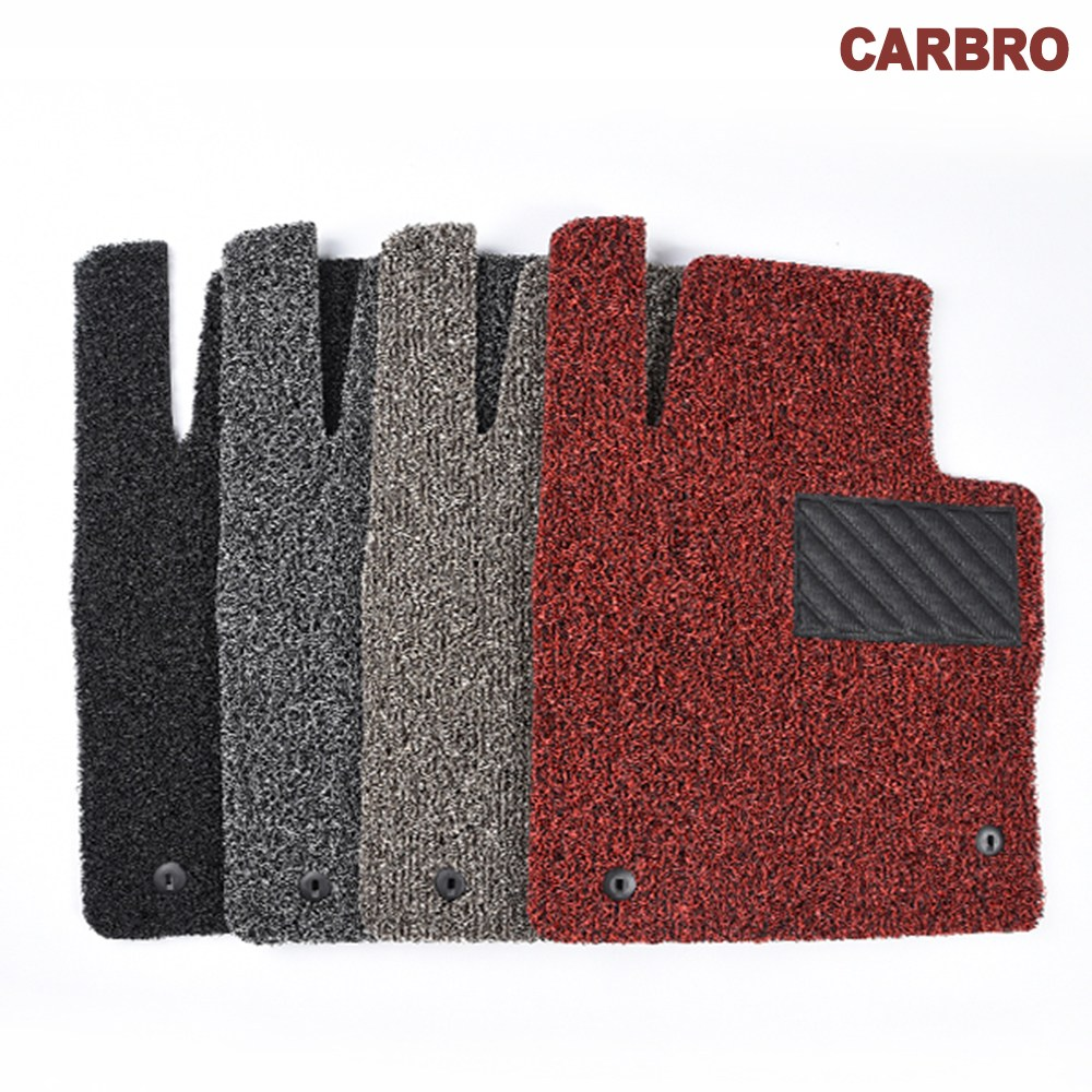 카브로 확장형 코일매트 20mm 1대분 풀세트 가격, 차종코드 및 색상입력