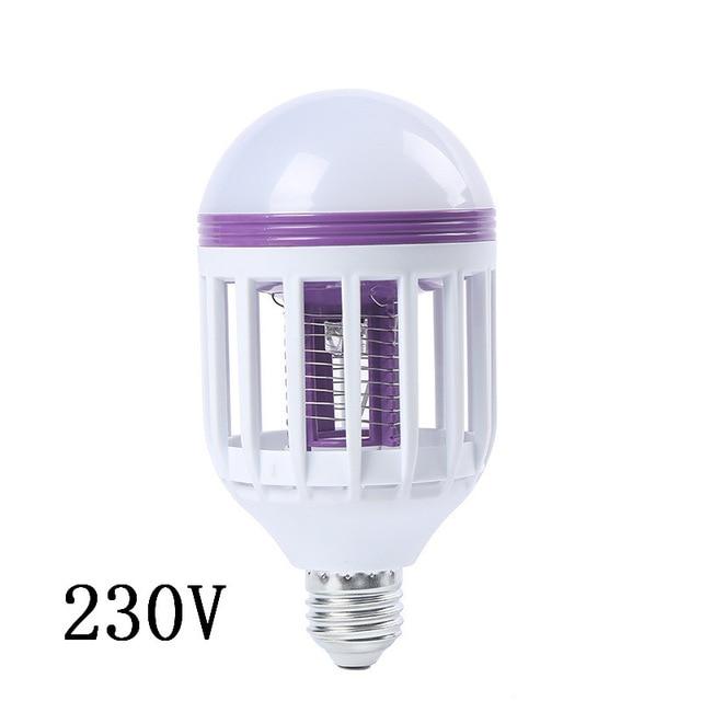 E26 / 27120 볼트 / 230 볼트 UV LED 전구 15 와트 모기 킬러 램프 2 1 모기 트랩 곤충 킬러 전구 플라이, 01 China, 02 230 V