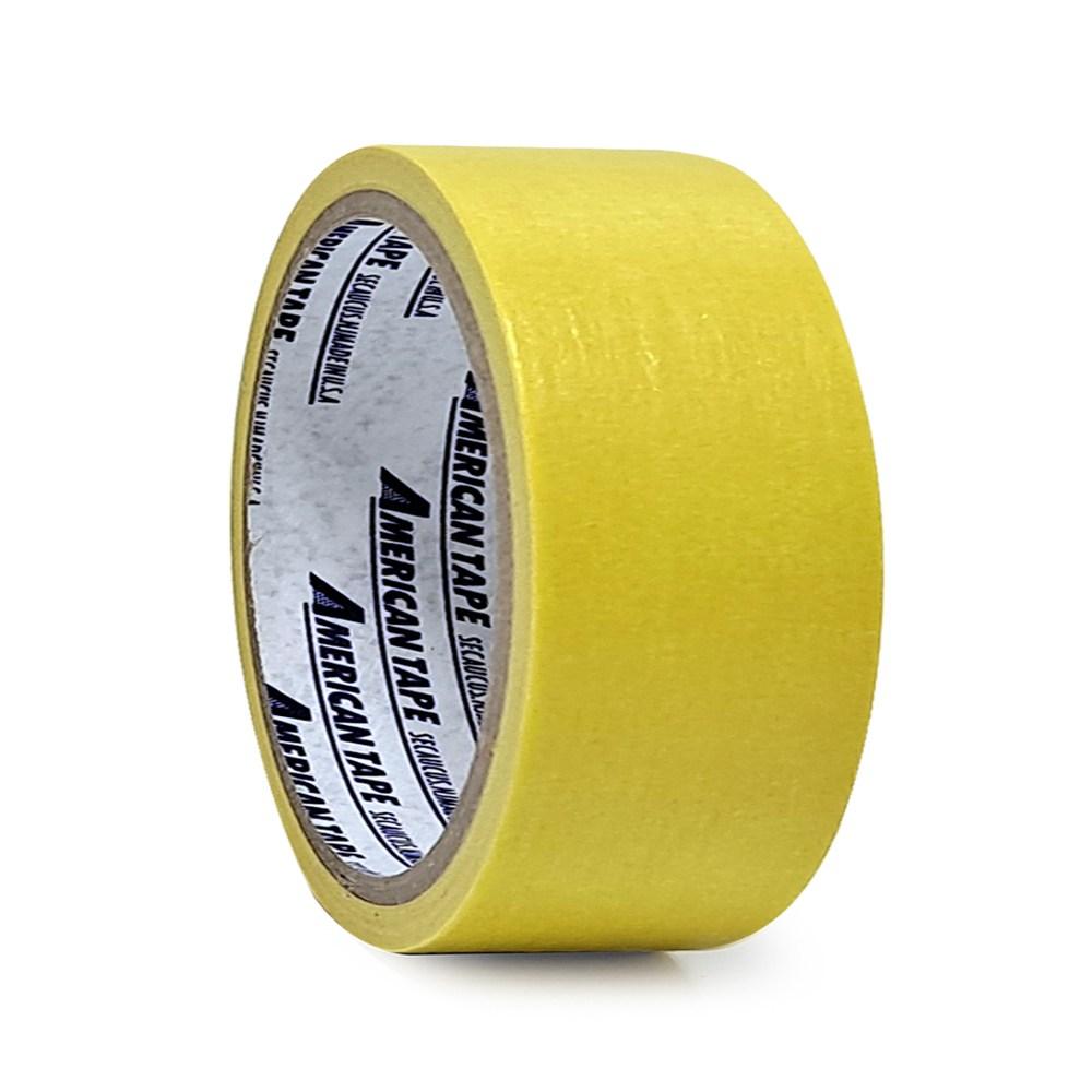 홀스파워 칼라 마스킹테이프 색깔 컬러 종이테이프, 1개, 노랑(50mm x 15Y)