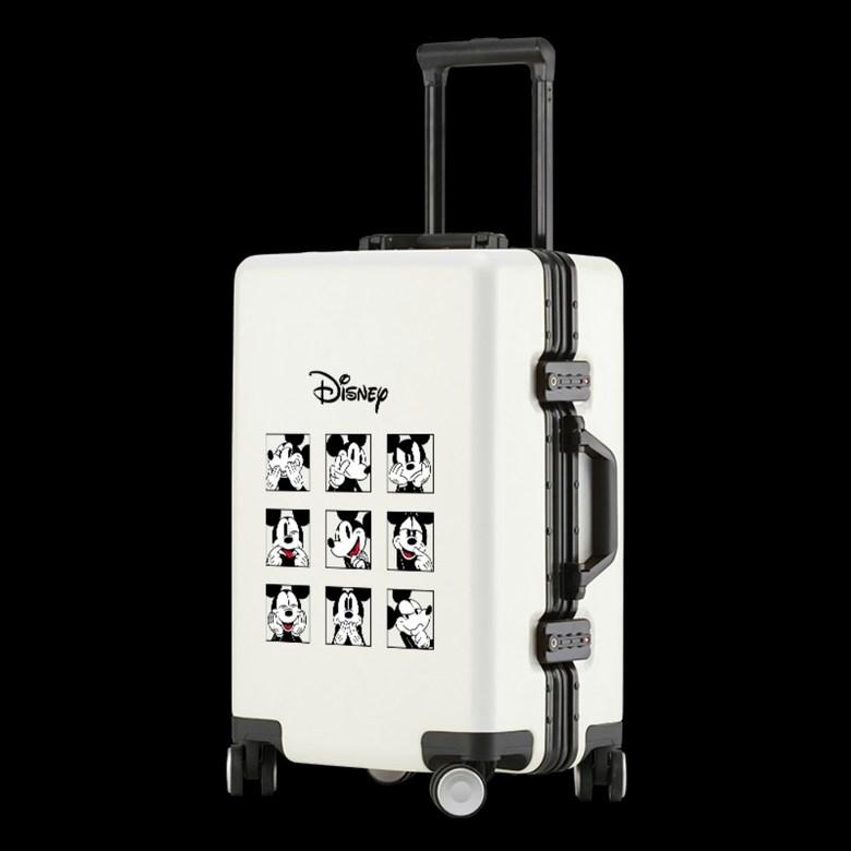 디즈니 미키 미니 도날드덕 비행기 연예인 캐리어 수하물 20인치 사이즈 24인치 1인용 소형 대형 가벼운 기내용 여행 가방 초등 학생 하드 케이스 1박 2일