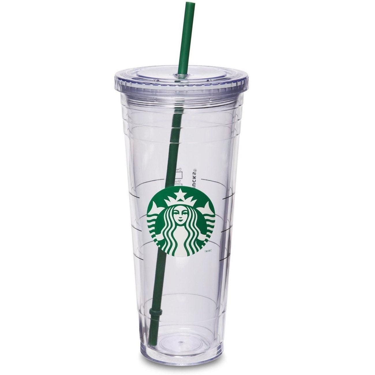 스타벅스 이중 콜드컵 710 ml 투명 로고