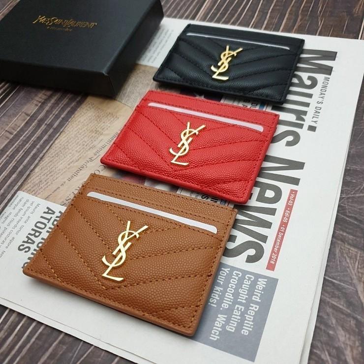피피엘몰 생로랑 카드 지갑