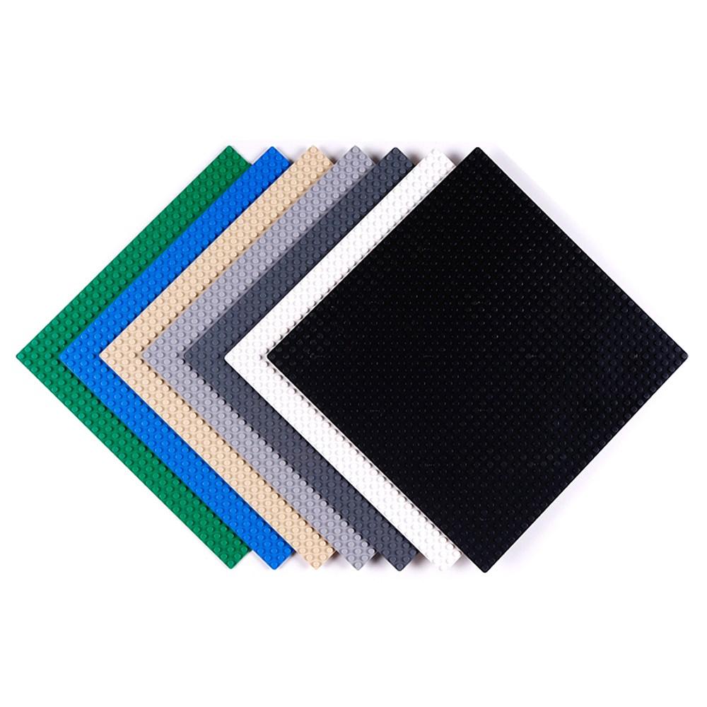 토이다락방 레고 클래식 놀이판 블럭판 레고판, 레고판 32x32칸 - 베이지