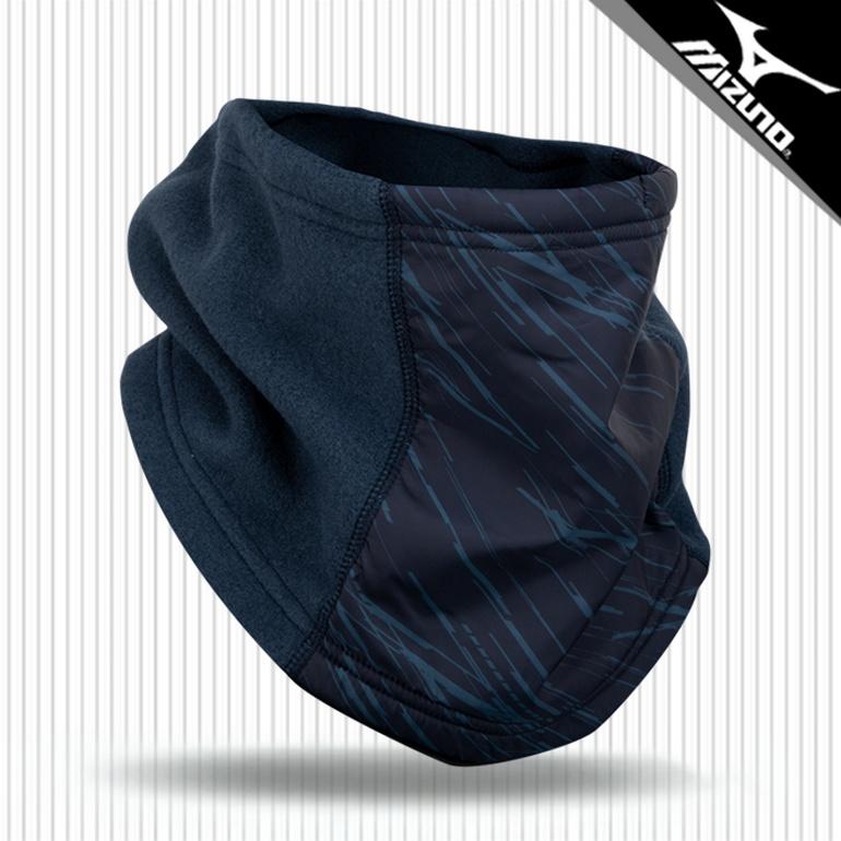 미즈노 브레스써모 넥워머 P2MY050514 네이비_쿠, 단품