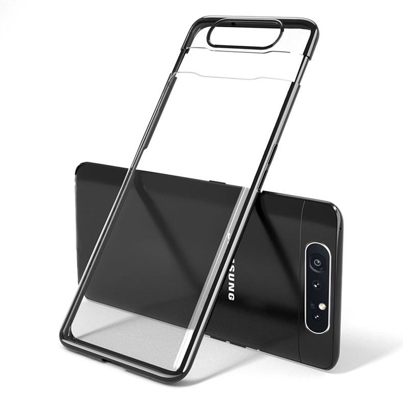 세상의모든제품 갤럭시A80 클리어 슬림 케이스 SM-A805 휴대폰