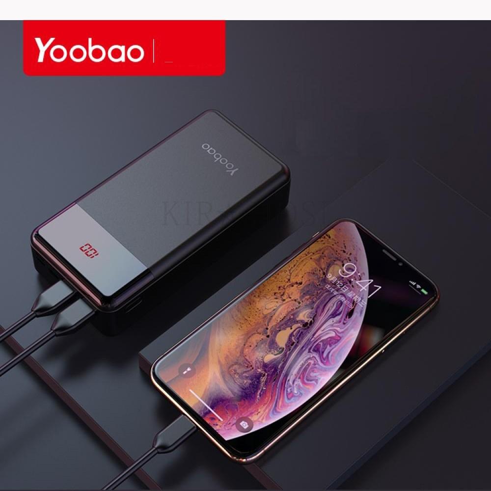 kirahosi 고속충전 휴대용 30000mAH 보조 배터리 충전 휴대 전화 08 AIgol4t, 블랙, 1