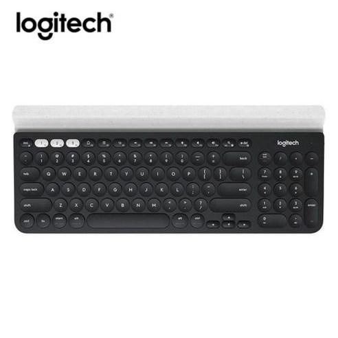로지텍 K780 정품 무선 블루투스 멀티키보드, 블랙