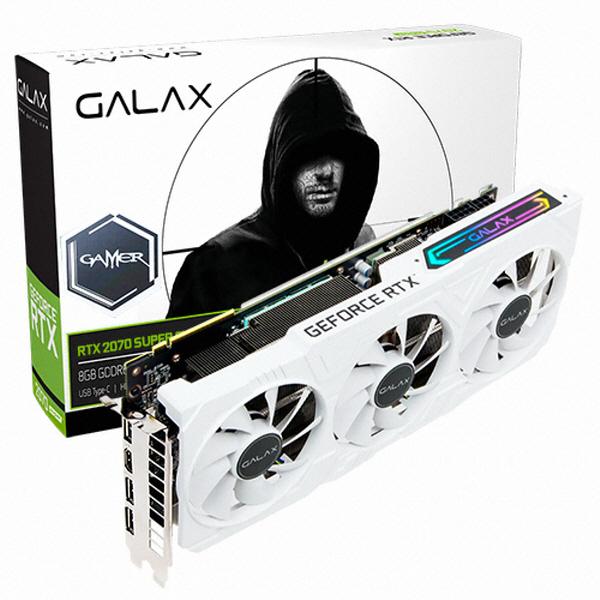갤럭시 GALAX 지포스 RTX 2070 Super EX Gamer OC D6 8GB 그래픽카드, 선택하세요
