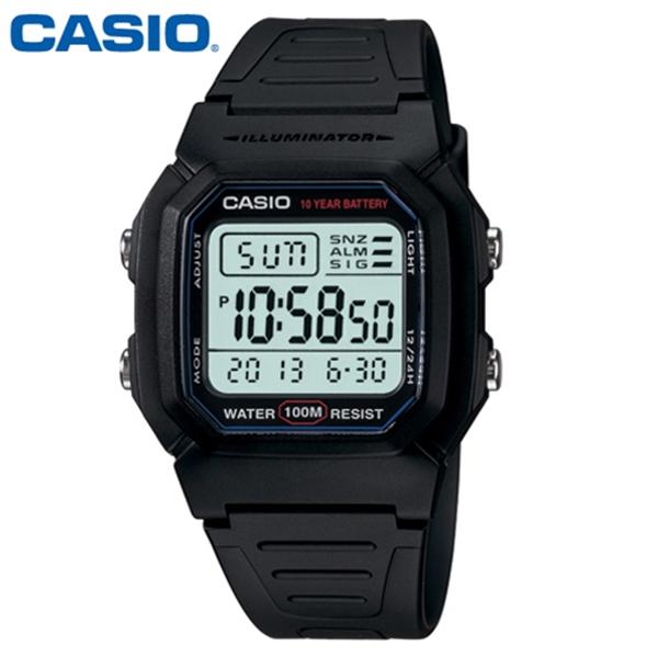 CASIO 카시오 남성 W-800H-1A 군인 군대 군용 전자 스포츠 시계