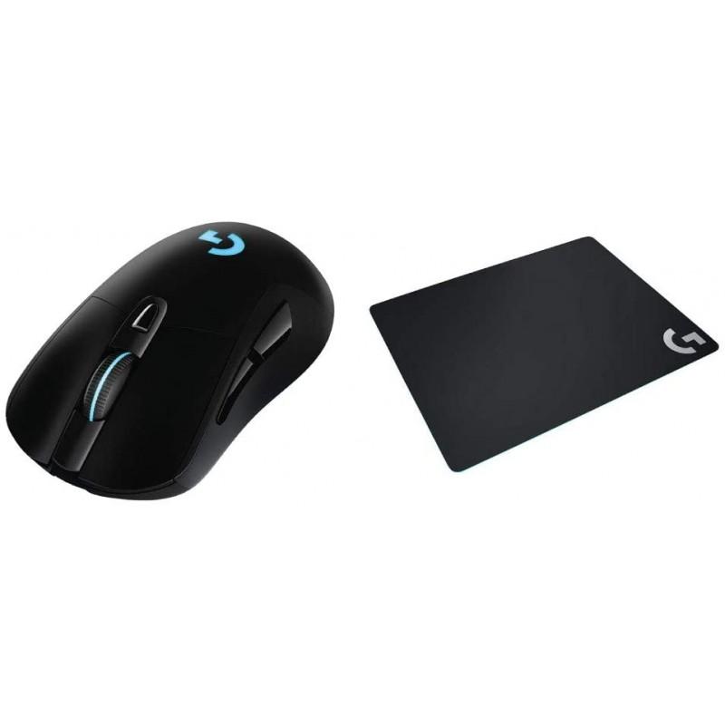 【세트 구매] Logicool G 게이밍 마우스 무선 G703h + 게이밍 마우스 패드 G240t 크로스, 단일상품, 단일상품