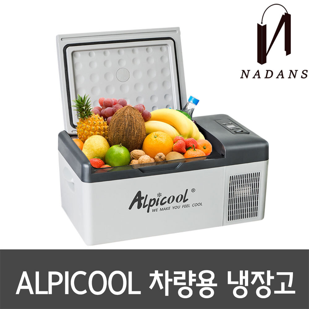 ALPICOOL 알피쿨 독일 차량용 이동식 냉장고 15L APP사용가능, 선택(1)차량용ⓛCCT00670.01