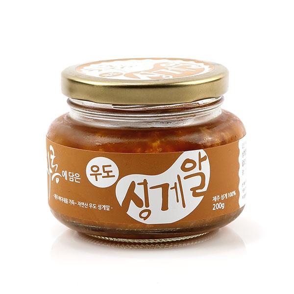 청정해 제주 성게알(냉동)200g, 1개, 200g