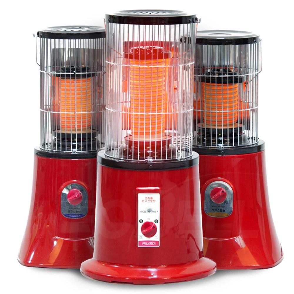 나산전기 황토보빈 전기 온풍기 열풍기 히터 NS-7008A/NS-7207L/NS-7307L, 01_NS-7008A