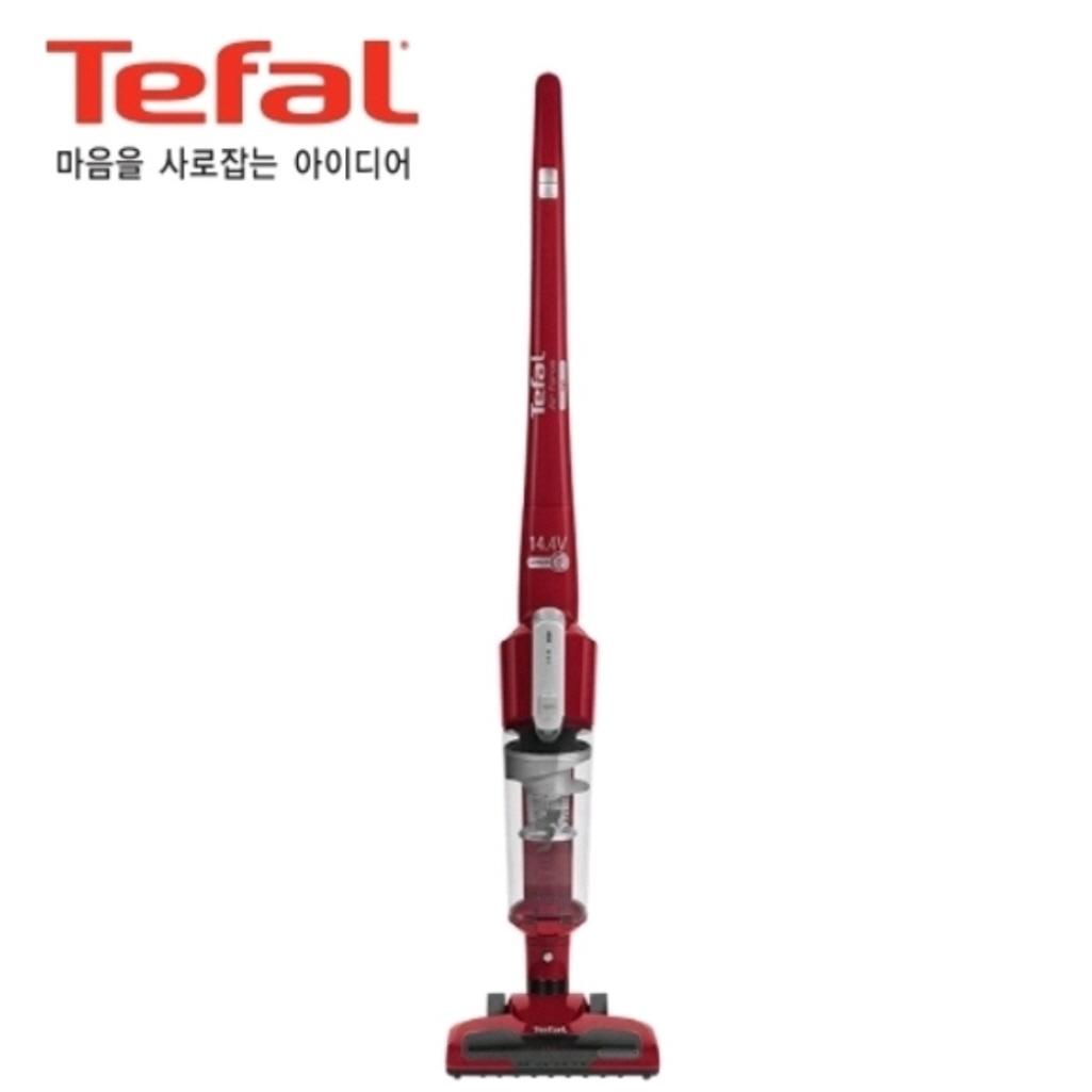 [테팔] 에어포스 라이트 TY6543KL 싸이클론 핸디 스틱청소기 진공청소기, 레드