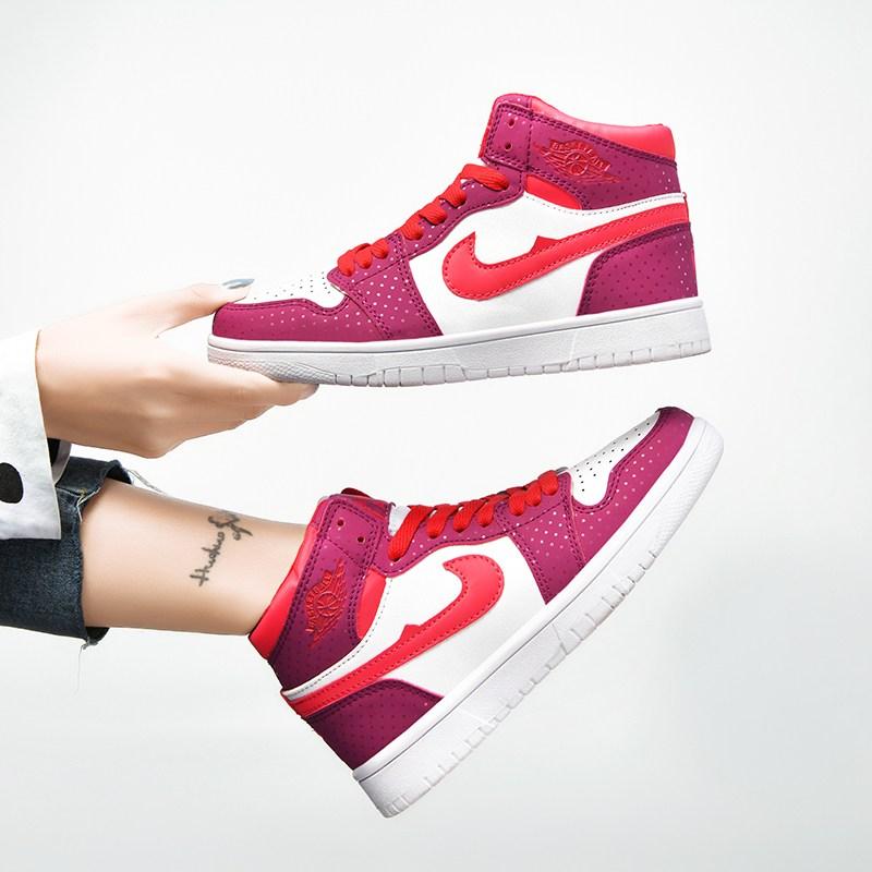 여자 신발 하이 플레이트 슈즈 발렌타인데이