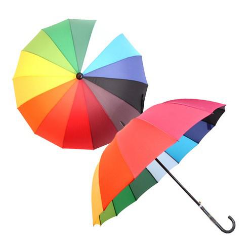 바니브라운 14살 장우산 곡자형
