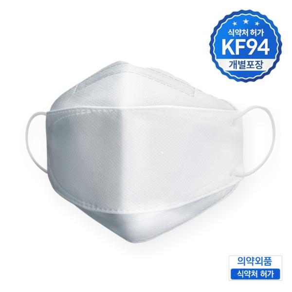 쇼킹팩토리 KF94 일회용 비말 미세먼지 차단 대형 마스크 50매, 50매입
