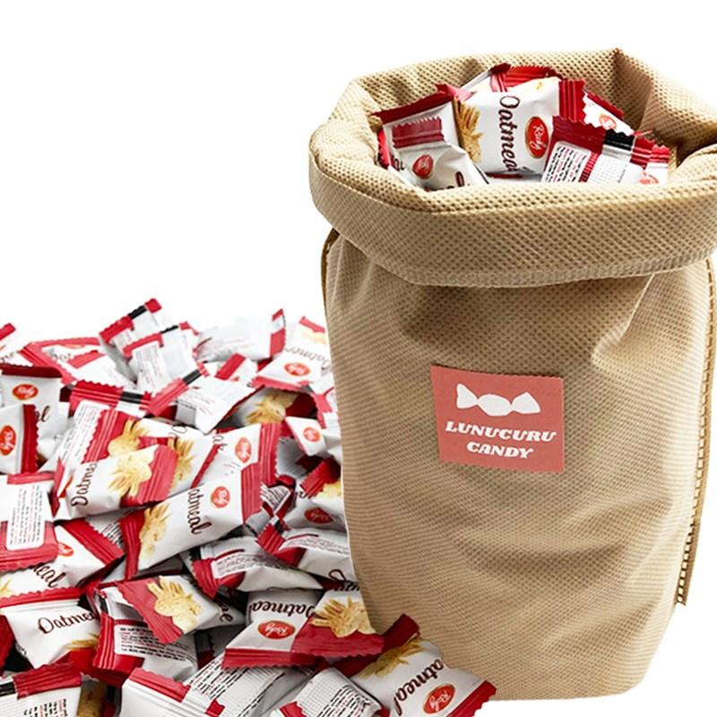 오트밀 미니바이트 귀리 곡물 대용량 과자 1Kg 약 400개입, 1개, 500g