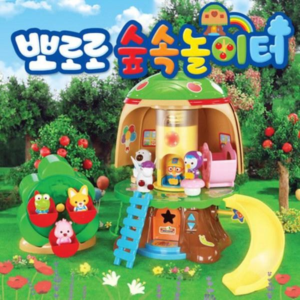 KDTOY 뽀로로 숲속놀이터 어린이 장난감 선물 원더키드, 상세 설명 참조