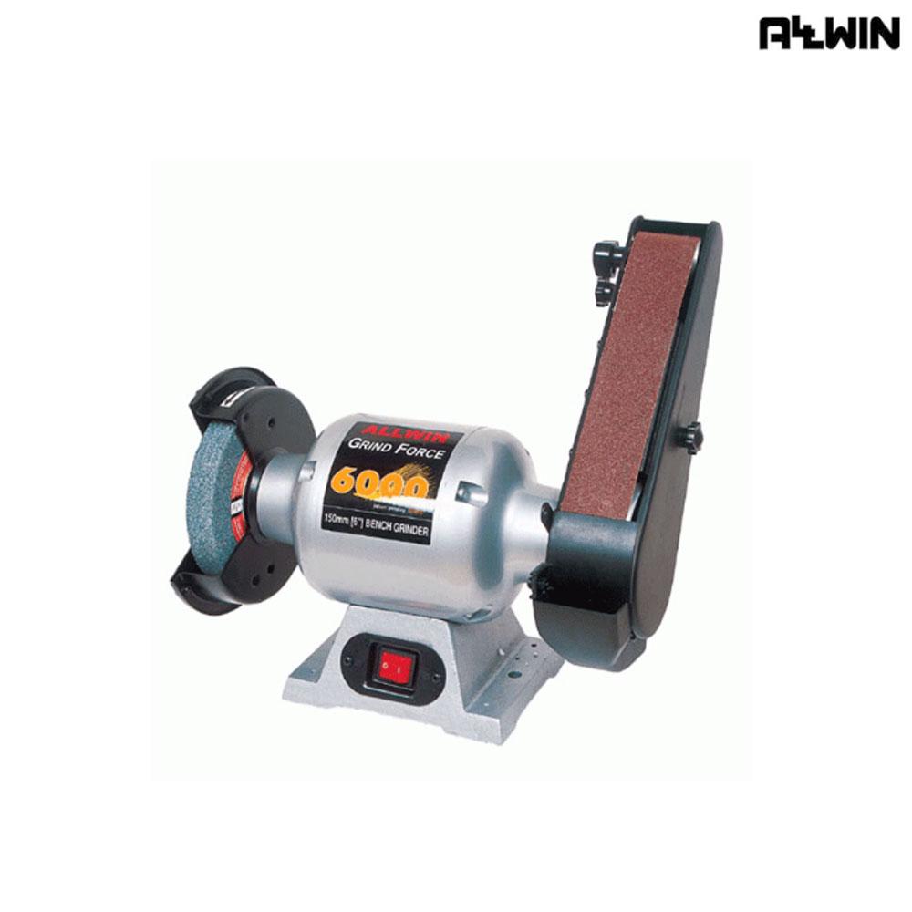 올윈 전동 탁상그라인더-벨트샌더 AGF-6000B, 1개 (POP 5602741659)