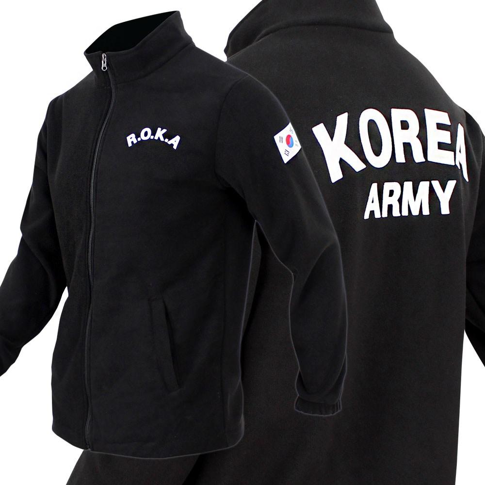 군인용품 기본 ROKA 로카 후리스 군인 군용 군대 코리아아미 재킷