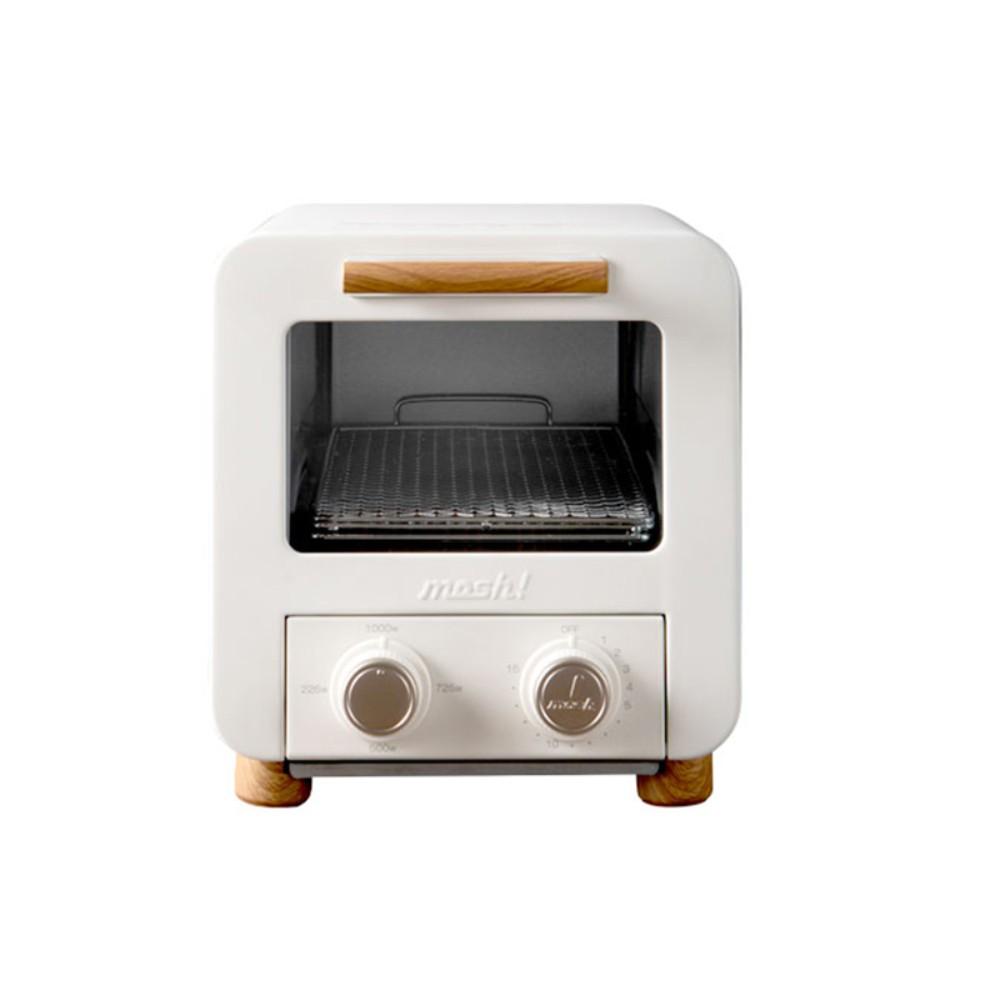 mosh 미니 오븐 가정용 다기능 토스터 복고풍, 베이지