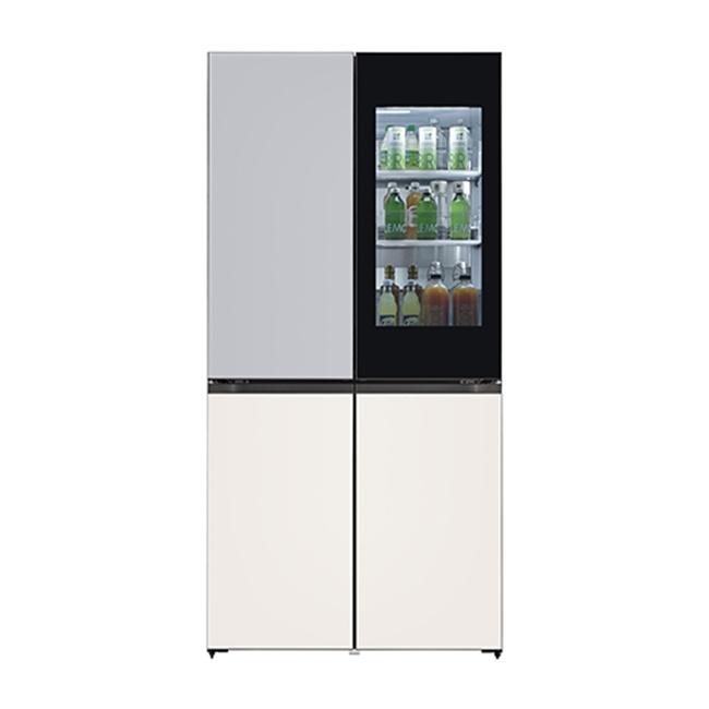 LG전자 M870GSB451S 오브제컬렉션 냉장고 1등급 글라스 (POP 4577113066)