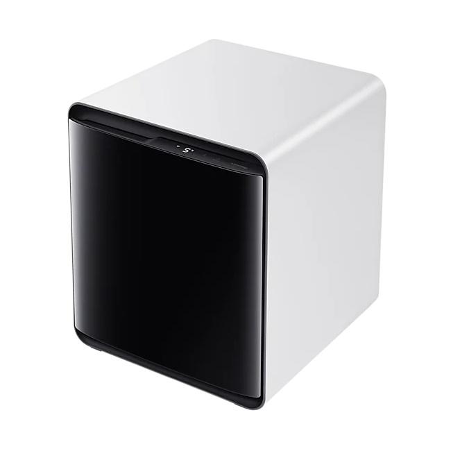 삼성전자 CRS25T950001 비스포크 큐브 냉장고 코타 화이트, 와인&비어, 선택안함 (POP 4342400989)