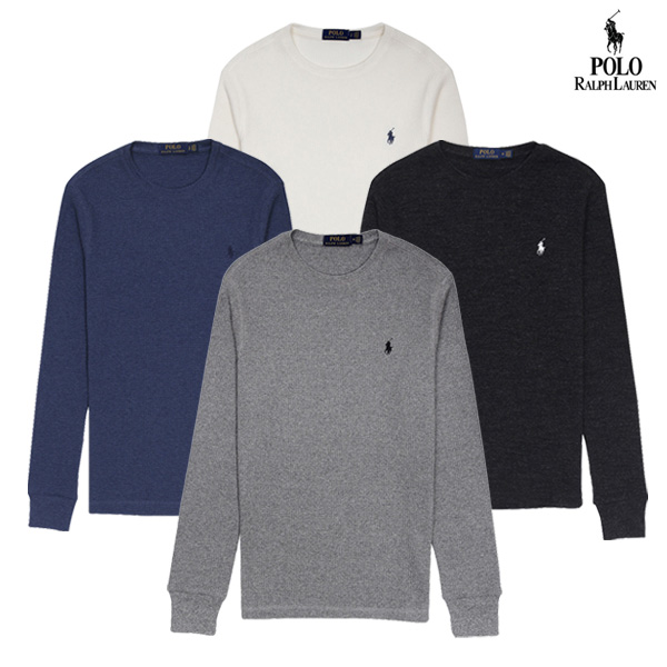 폴로랄프로렌 남성 와플 긴팔 티셔츠 16종 택1