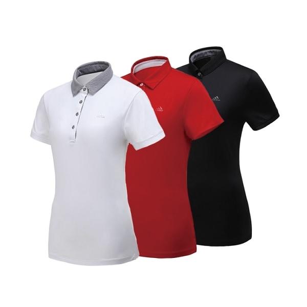 아디다스골프 에어스윙 여성 티셔츠 CK2346/CK2347/CK2348, M