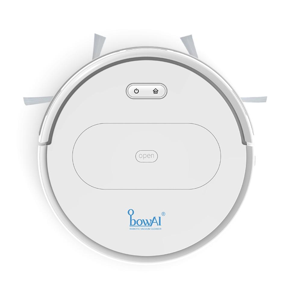 스마트 청소 로봇 가정용 음소거 자동 게으른 청소 기계 청소 3-in-one 초박형 진공 청소기, 플래그십 [흰색] 기획 + APP 지능형
